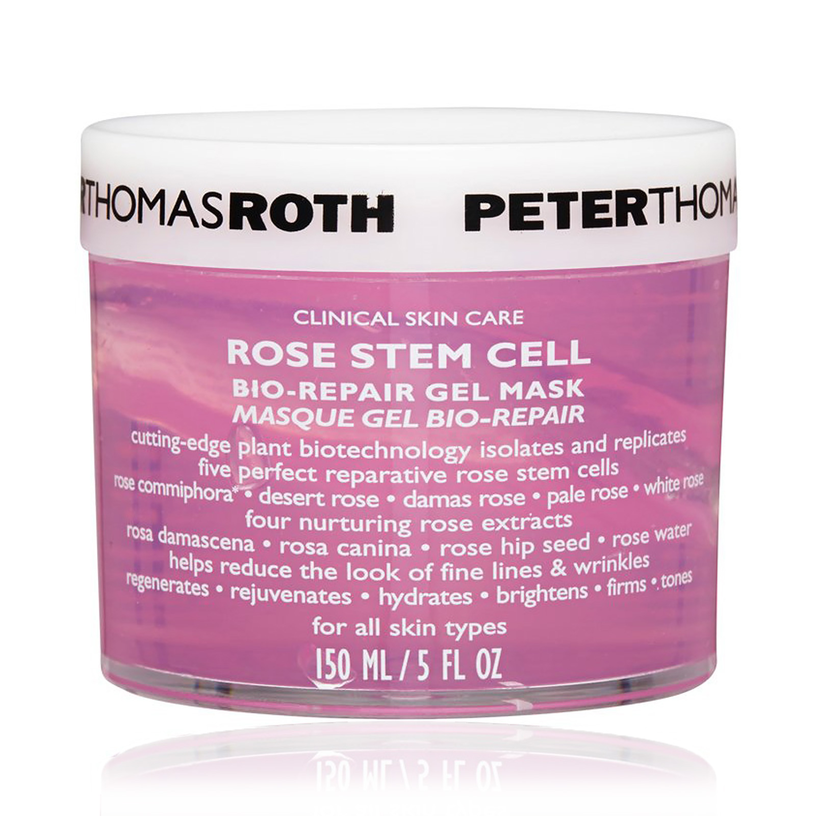Rose Stem Cell Bio-Repair Gel Mask (For All Skin Types)