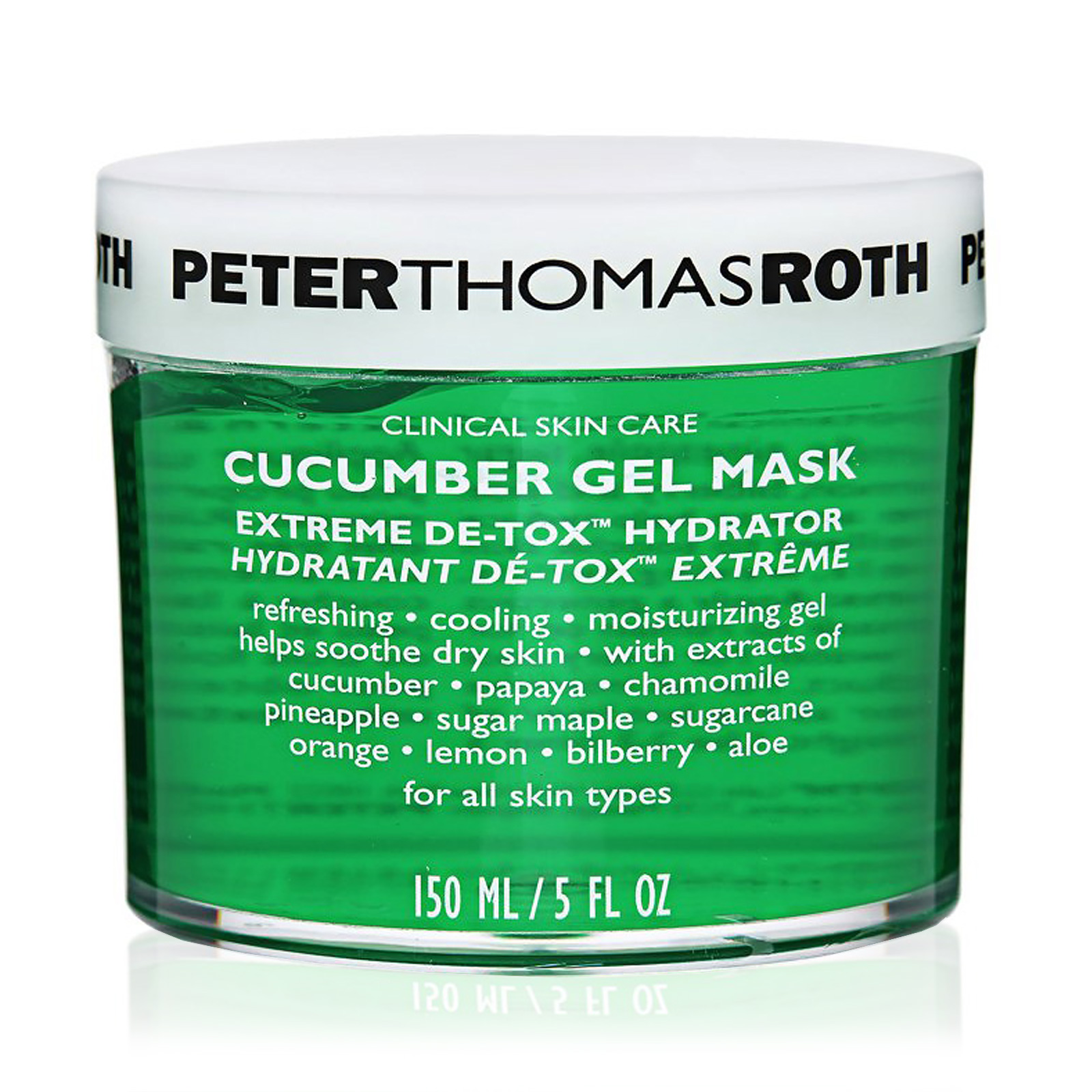 Cucumber Extreme De-Tox Gel Mask Hydrator (For All Skin Types)